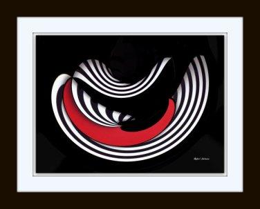 Geometric Art by Rafael Salazar - Mixed Media