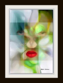 Green Mask by Rafael Salazar
