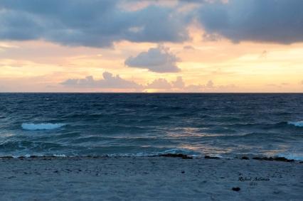 Sunrise in Deerfield Beach ~ Photography by Rafael Salazar