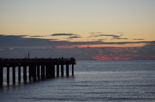 Deerfield Beach International Fishing Pier Sunrise ~ Photography by Rafael Salazar