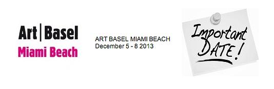 Art | Basel Dec 5-8 2013