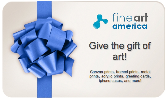 Give the gift of art. FAA