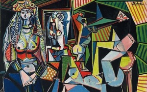 "Pablo Picasso's ""Les Femmes d'Alger"" sold for $180 million in May (image via Wikimedia)"