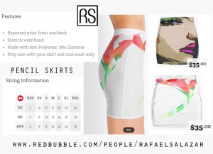 Rafael Salazar Art To Wear skirts