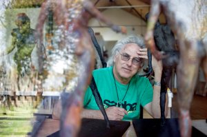 Eric Fischl, an artist, advocates DNA-based authentication. Credit Danny Ghitis for The New York Times