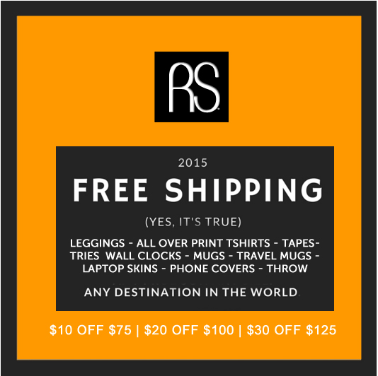 Society6 Black Friday 2015 Free Shipping Worldwide