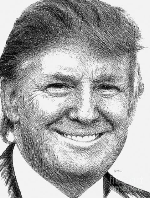 Donald J. Trump by Rafael Salazar