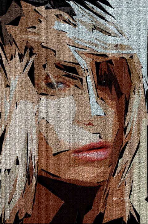 Female Expressions XX by Rafael Salazar © 2015