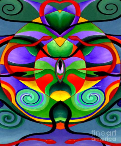 Mandala 9704 by Rafael Salazar © 2014