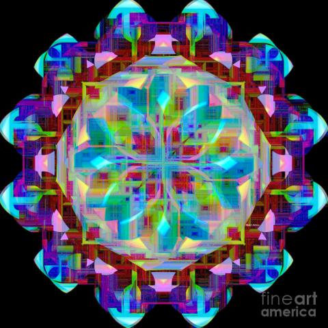 Mandala 9725 by Rafael Salazar © 2015
