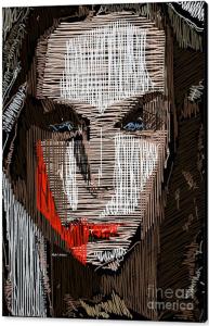 Studio Portrait in Pencil 41 by Rafael Salazar ©2016 Canvas 26.875 x 36