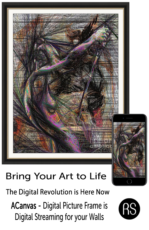 Bring your Art to Life via Digital Streaming on ACanvas