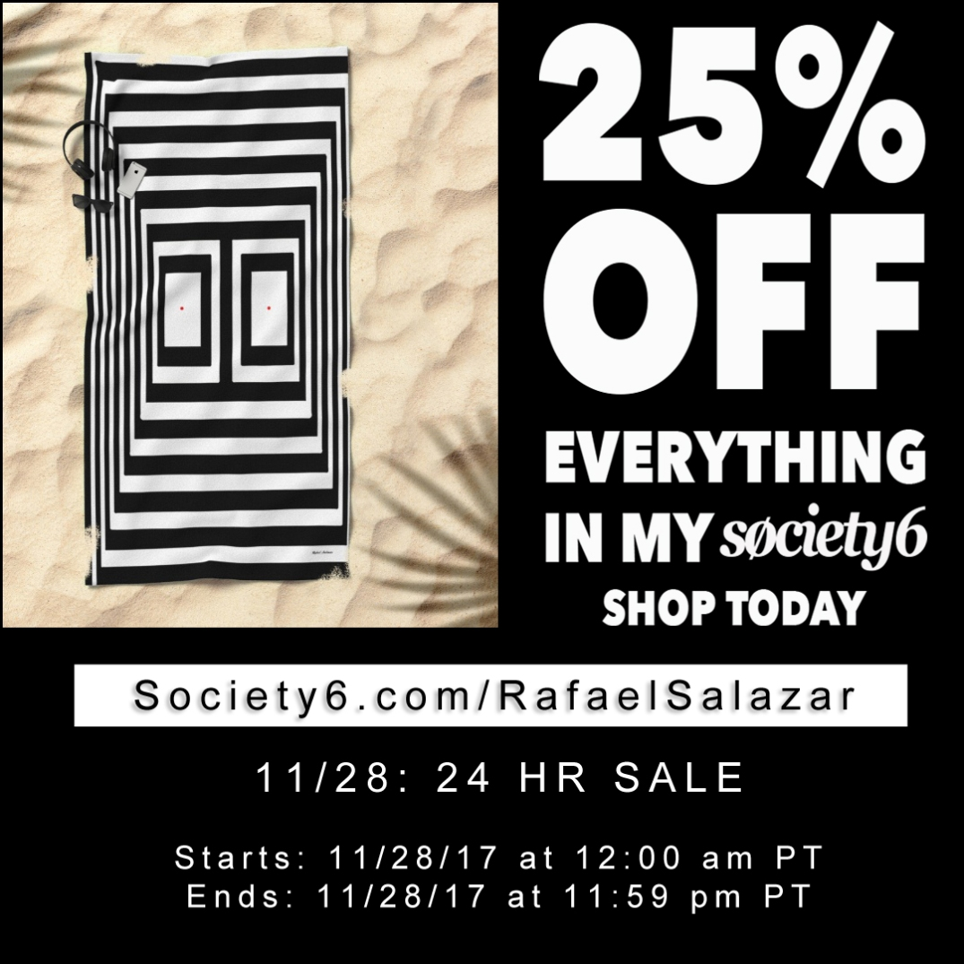 Rafael Salazar Cyber Monday extension at Society6
