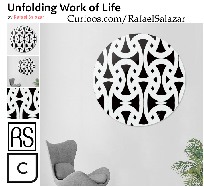 Unfolding work of life by Rafael Salazar