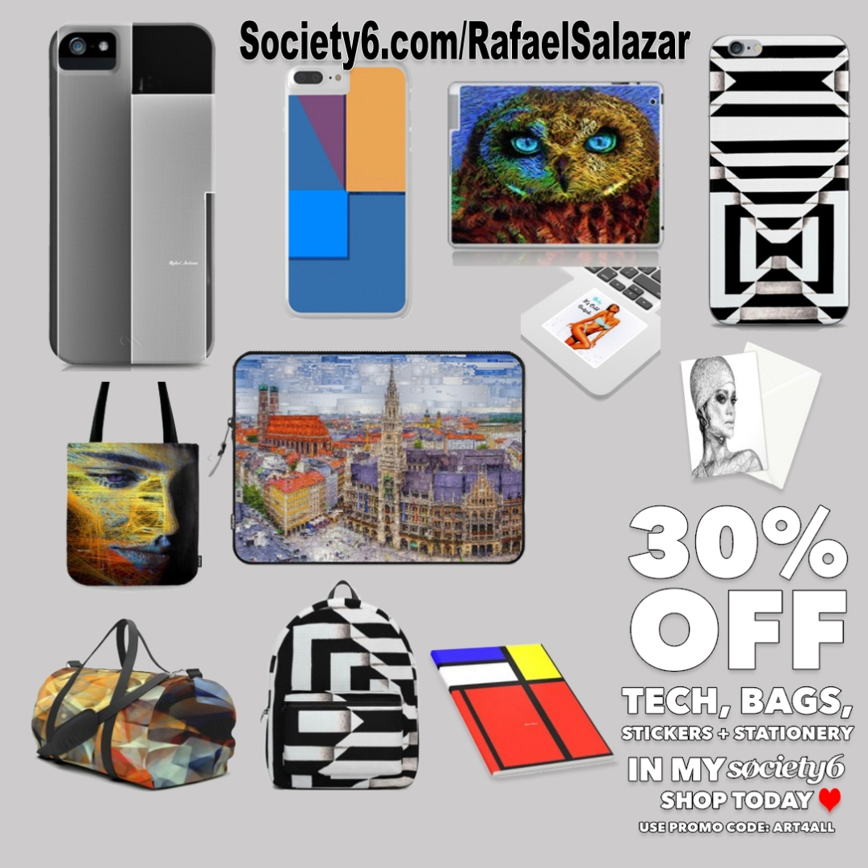 Rafael Salazar 30% off with code ART4ALL