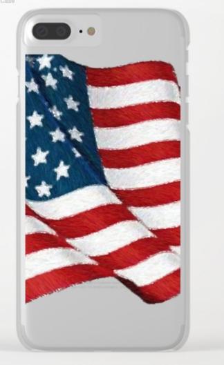 USA_USA_USA_by_Rafael_Salazar_clear_iphone_case