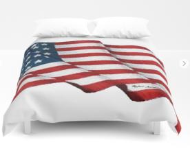 USA_USA_USA_by_Rafael_Salazar_duvet_cover