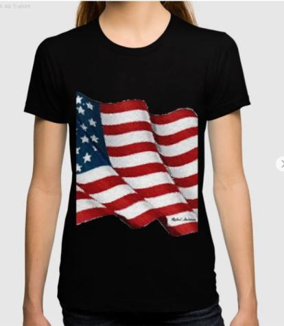 USA_USA_USA_by_Rafael_Salazar_ladies_t_shirts