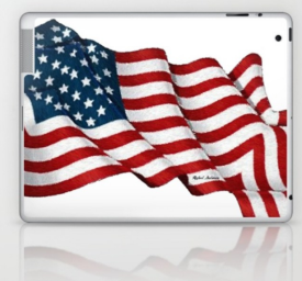 USA_USA_USA_by_Rafael_Salazar_laptop_case