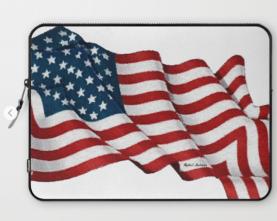 USA_USA_USA_by_Rafael_Salazar_laptop_sleeve